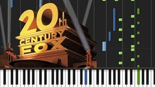 20th Century Fox - Main Theme [Piano Tutorial] (♫)