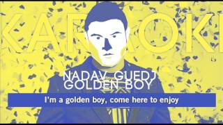 Nadav Guedj - Golden Boy {Karaoke/Instrumental}