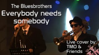 The Bluesbrothers - Everybody needs somebody to love (TMO & Friends live)