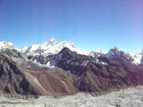 Everest View from Gokyo Ri in Nepal