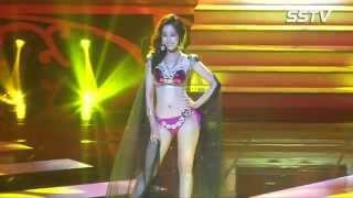 [SSTV 영상] 2015 미스코리아 (Miss Korea)진 이민지, 비키니(bikini) 퍼레이드서 탄력 넘치는 '육감 몸매' 뽐내