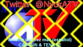 CAPTAIN & TENILLE Amame una vez mas (español) marca radio manquehue