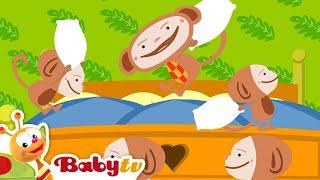 五隻小猴子 - BabyTV 中文