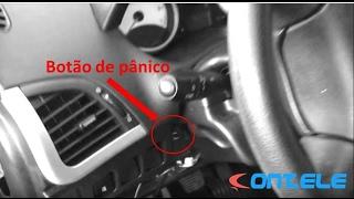 Instalação do Botão de pânico no rastreador