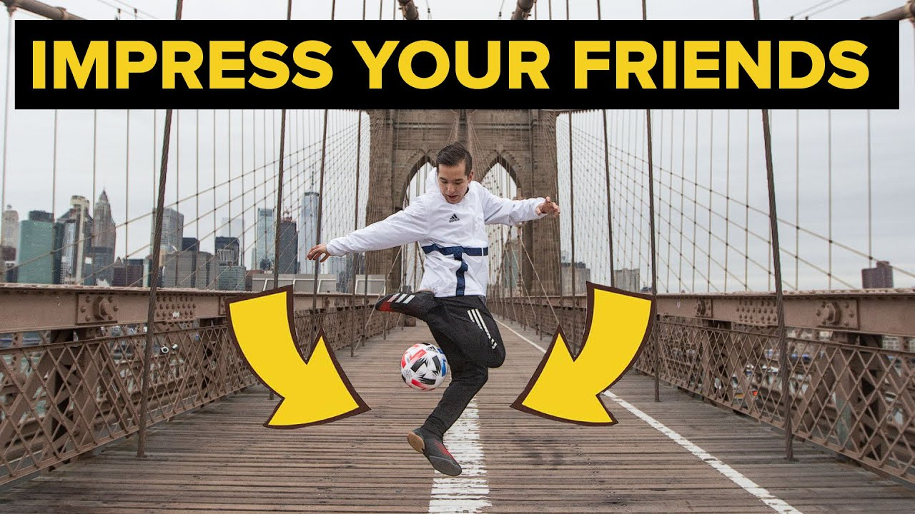 These 5 Amazing Football Skills will Impress your Friends