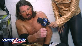 AJ Styles wants to make Shinsuke Nakamura pay for his low blows: WWE Backlash Exclusive, May 6, 2018