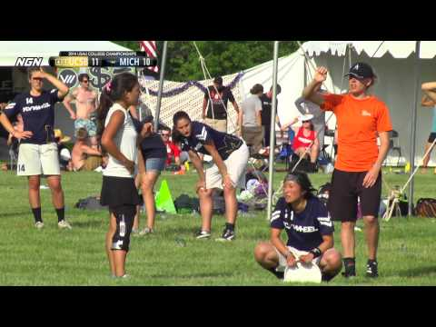 Video Thumbnail: 2014 College Championships, Women's Pre-Quarter: Michigan vs. UC-Santa Barbara