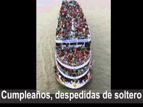 Promo chiva acuatica  Aventuras Ecuador