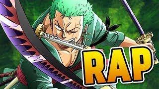 "ZORO RAP   ""Three Sword Strike""   RUSTAGE (ONE PIECE RAP)"