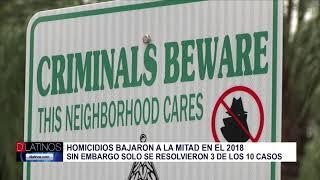 Bajan los homicidios en Fort Myers