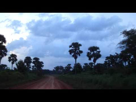 Road from Juba to Yei in South Sudan Africa 21