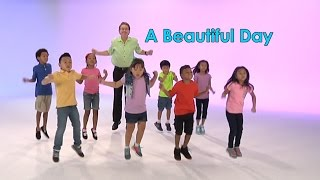 Good Morning Song | A Beautiful Day | Brain Breaks | Jack Hartmann
