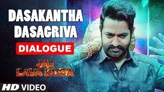 Dasakantha Dasagriva Dialogue | Jai Lava Kusa Dialogues | Jr Ntr, Rashi Khanna