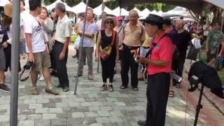 2017台中街頭藝人 賴有成-快樂馬車-電吉他