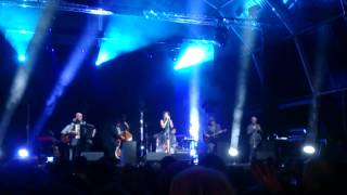 Zaz, port coton, live in Barcelona