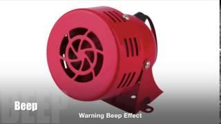 Warning Beep Sound Effect