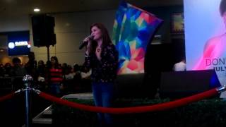 Donna Cruz sings 'HULOG NG LANGIT' @ SM City Rosales ❤