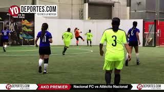 Nacional FC vs. Atletico Femenil Champions AKD Premier Soccer League