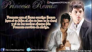 Princesa (Remix) - Ken Y Ft Jerry Rivera (Letra/Lyrics) (Original) Versión Salsa  2013 By Totti
