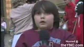 Kid scared to sing happy birthday on Kimmel
