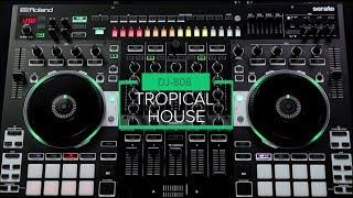 How to create a Kygo-style Tropical House beat on the DJ-808