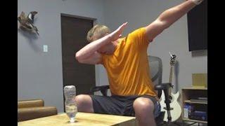 Backwards Water Bottle Flip Edition || Dude Perfect