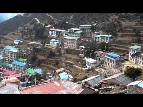 SANY0917.MP4 Namuche / Everest Trekking View