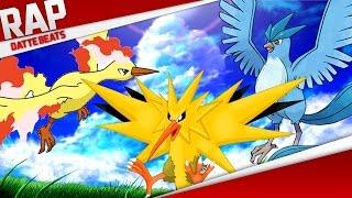 Rap do Articuno, Moltres e Zapdos (Pokémon) | DatteBeats RapConjunto 02