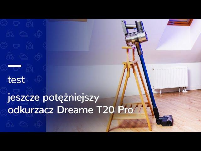 Odkurzanie na NOWYM POZIOMIE z Dreame T20 Pro 🤩