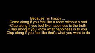 Happy-Pharrell Williams Lyrics