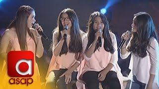 "ASAP: Sunshine Cruz sings ""Hulog Ng Langit"" with her Tres Marias"