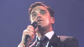 ROBBIE WILLIAMS - I Will Talk And Hollywood Will Listen - Belfast 13/06/2014