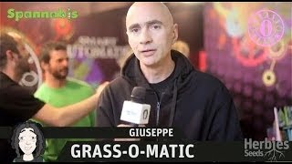 Herbie Interviews Grass-O-Matic Seeds
