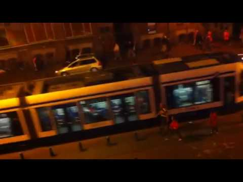 Holland go crazy after beating Uruguay in world cup semi fi