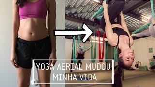 Como é uma aula Yoga Aerial/ Atividades físicas  divertidas