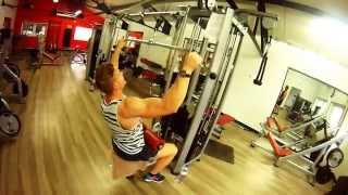Programme dos + triceps - back workout + triceps