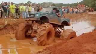 4X4 Mega Mud Trucks with MuddFreak and Phycho Billy Cadillac