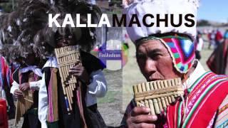 KALLAMACHUS Danza Sikuri ancestral - mayo 2016 rescate cultural