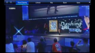 """Dashing"" Cody Rhodes debuts a new theme song"