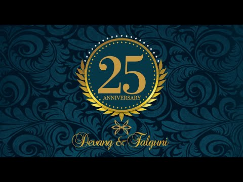 25 Years Memories Of Devang & falguni