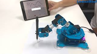 The 3D writing robot#which can write what you have written before