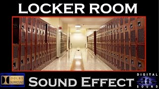 Locker Room Shower Sound Effect | LOCKER ROOM SFX | HD