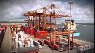 Vídeo Institucional da Empresa Tecon Suape - Português width=