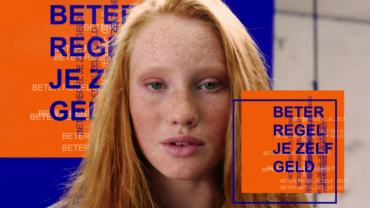 Teen models in Rabobank online and instore commercial