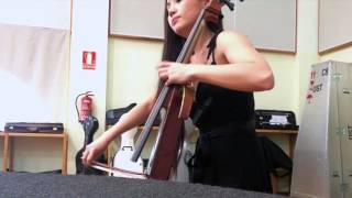 Tina Guo - Batman: The Dark Knight Rehearsal with the Tenerife Symphony