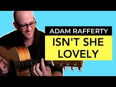 adam-rafferty-isnt-she-lovely-by-stevie-wonder-solo-fingerstyle-guitar-adam-rafferty