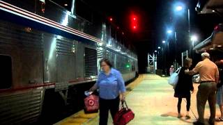 Amtrak Arriving in Connellsville...Pennsylvania. July 21, 2012