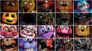 FNAF ULTIMATE CUSTOM NIGHT ALL JUMPSCARES
