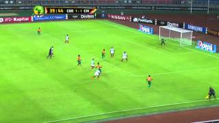 D.R. Congo vs Ivory Coast 1:3 (AFCON 2015)