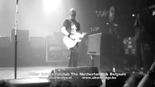 Alter Bridge - Blackbird solo (live from Brussels) 25 oct. 2013